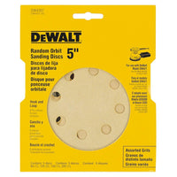Dewalt DW4307 HOOK AND LOOP PAPER DISCS 5 Pack