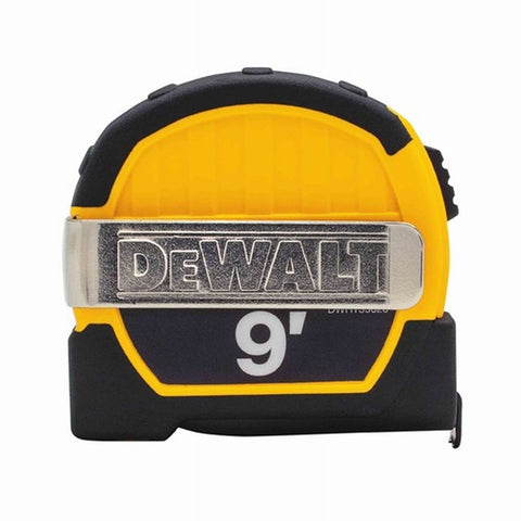 Dewalt Dewalt DWHT33028M 9ft. Magnetic Pocket Tape Measure, Black and Yellow
