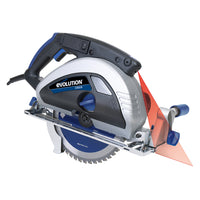 "Evolution Power Tools EVOSAW230 9"" TCT Industrial Circular Saw"