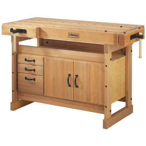 Sjobergs SJO-66737K Scandi Plus Workbench 1425 + SM03 Cabinet Combo