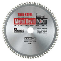 MK Morse CSM768NTSC NXT 7 inch Thin Steel Cutting Circular Blade w/ 68 Teeth