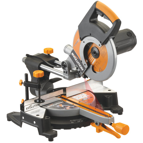 "Evolution Power Tools RAGE3: 10"" TCT Multipurpose Sliding Miter Saw"