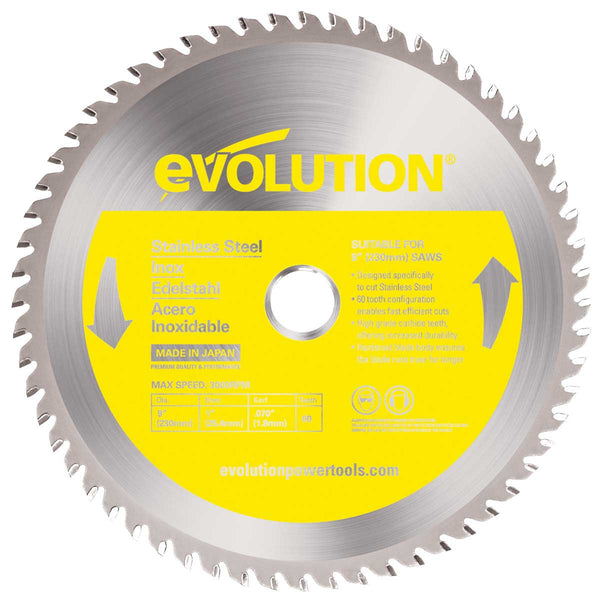 "Evolution 9"" Stainless Steel Blade 230BLADESS"