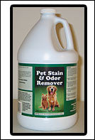 Pet Stain & Odor Remover - 1 gallon - Free Shipping!