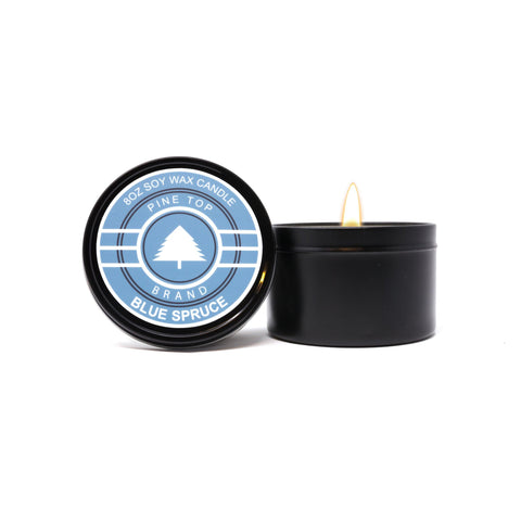 Blue Spruce Soy Wax Candle
