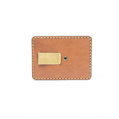 Hemlock Money Clip Wallet (English Tan)
