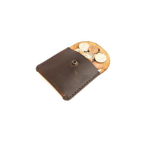 Malabar Coin Pouch (Nut Brown)