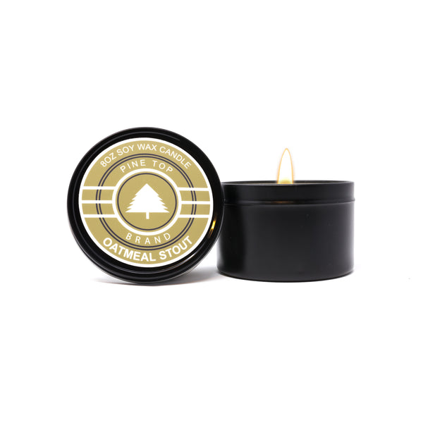 Oatmeal Stout Soy Wax Candle