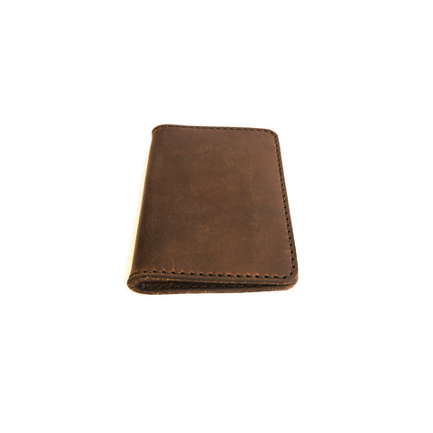 Pine Passport Wallet (Nut Brown)
