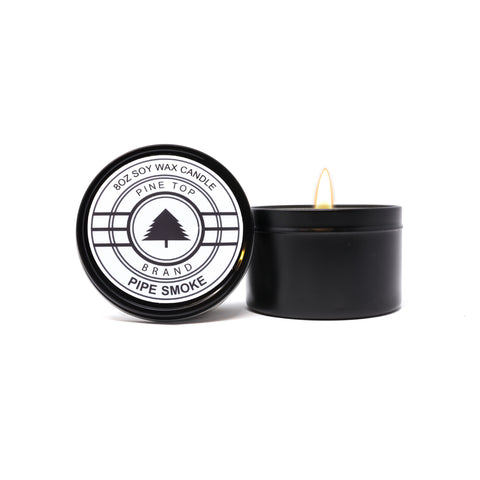 Pipe Smoke Soy Wax Candle