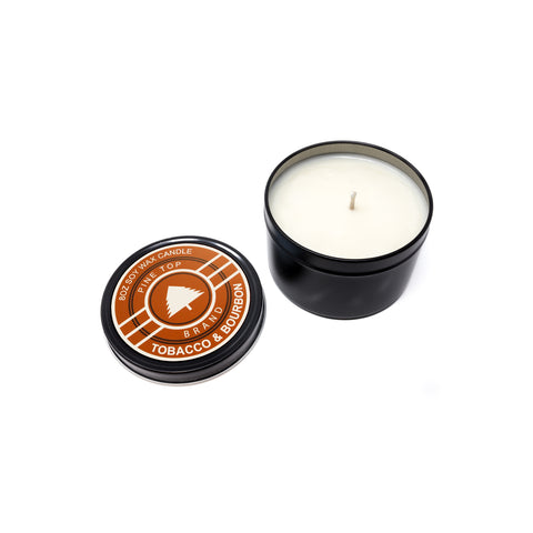 Tobacco & Bourbon Soy Wax Candle