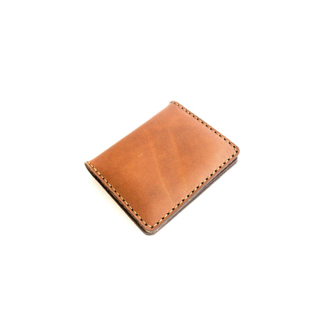 Bristlecone Card Wallet (English Tan)