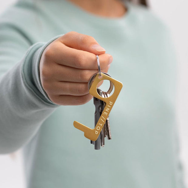 Brass Touch Tool Keychain