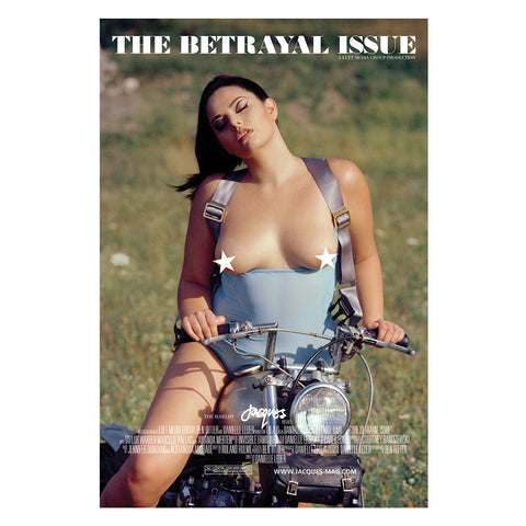 Betrayal Issue Poster - Marcelle Pallais