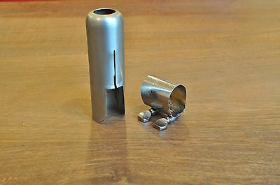Vintage Berg Larsen Alto Saxophone Ligature and Cap Set for Metal Mouthpieces