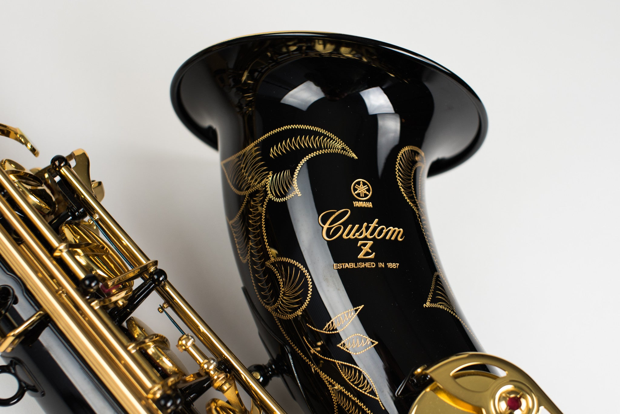 Yamaha Custom 82Z Tenor Saxophone Black Lacquer Mint Condition!
