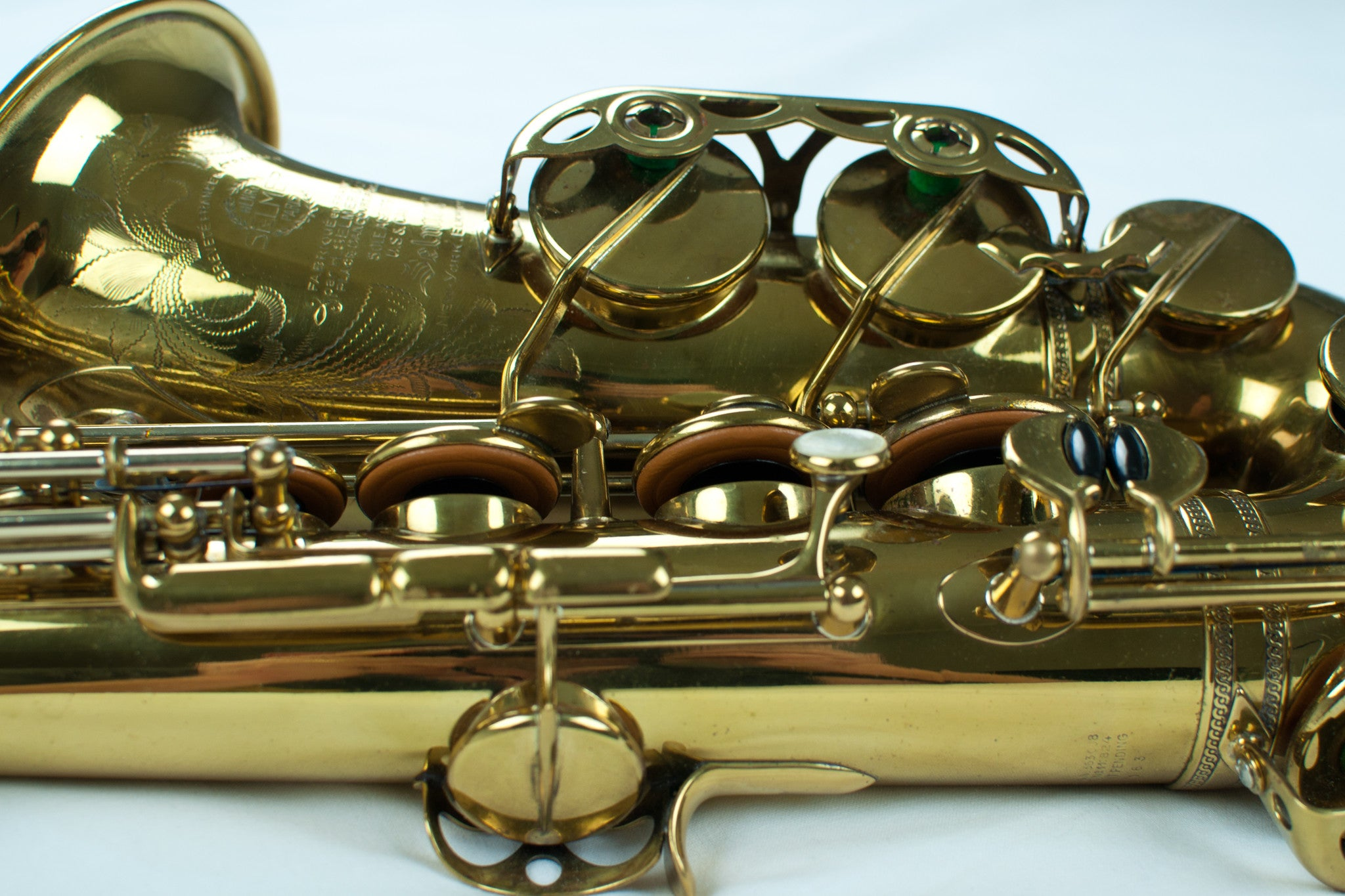 Selmer Balanced Action Alto Saxophone with Fresh Overhaul, s/n 25,xxx
