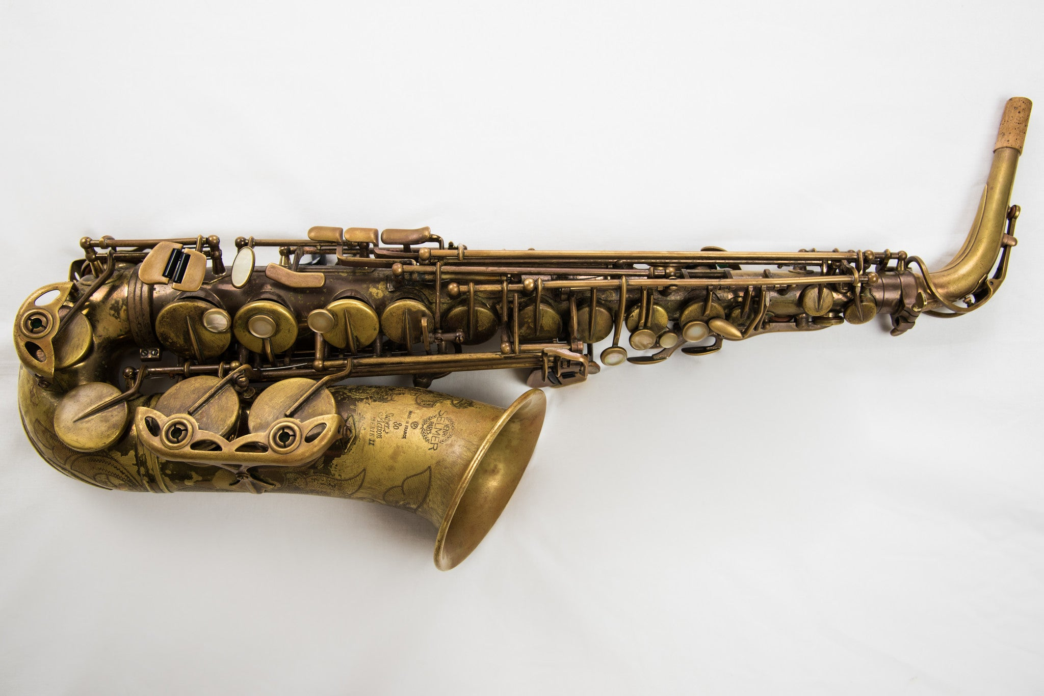 Selmer Super Action Series II Alto Saxophone UNLACQUERED
