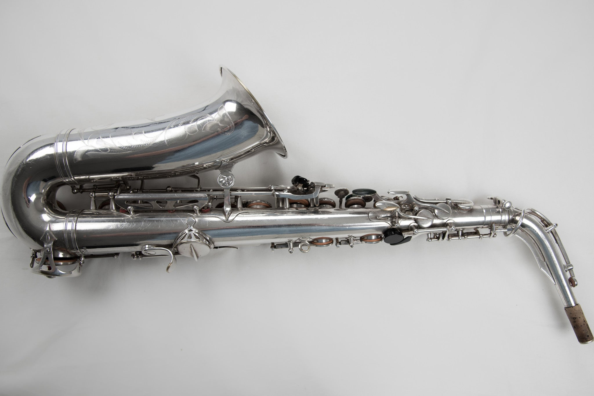 "Courtois Beaugnier Silver Alto Saxophone ""The Face"""