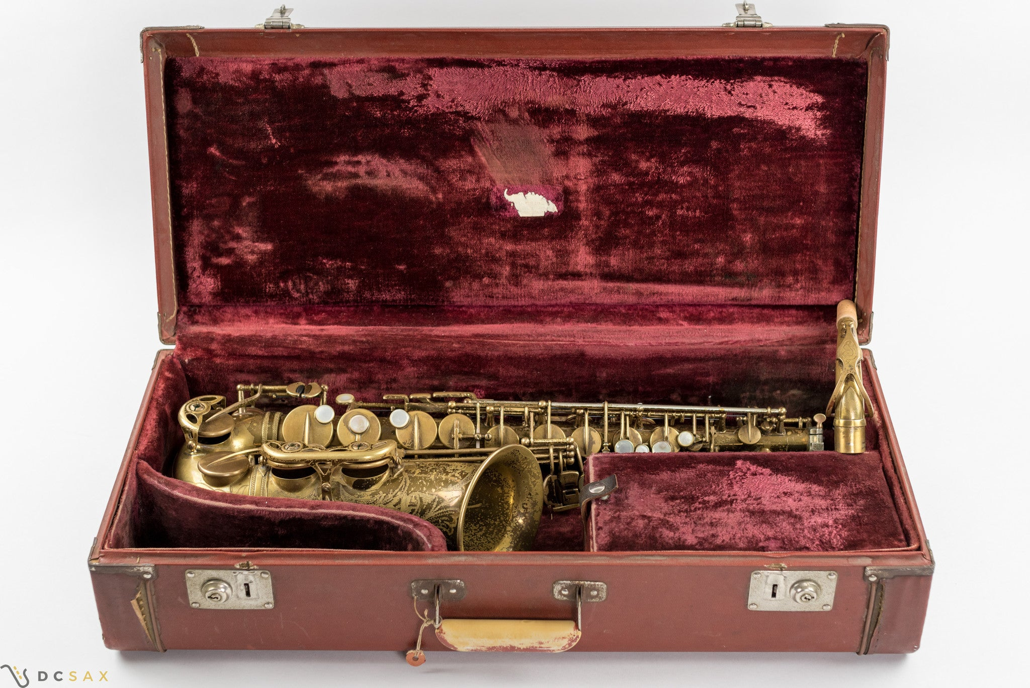1954 Selmer Mark VI Alto Saxophone, Original Lacquer, Double S Neck
