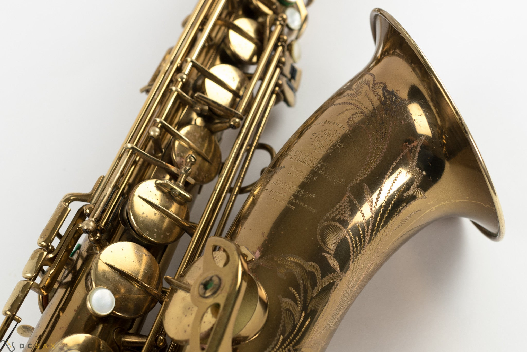 1952 49,xxx Selmer Super Balanced Action SBA Tenor Saxophone, 98% Original Lacquer