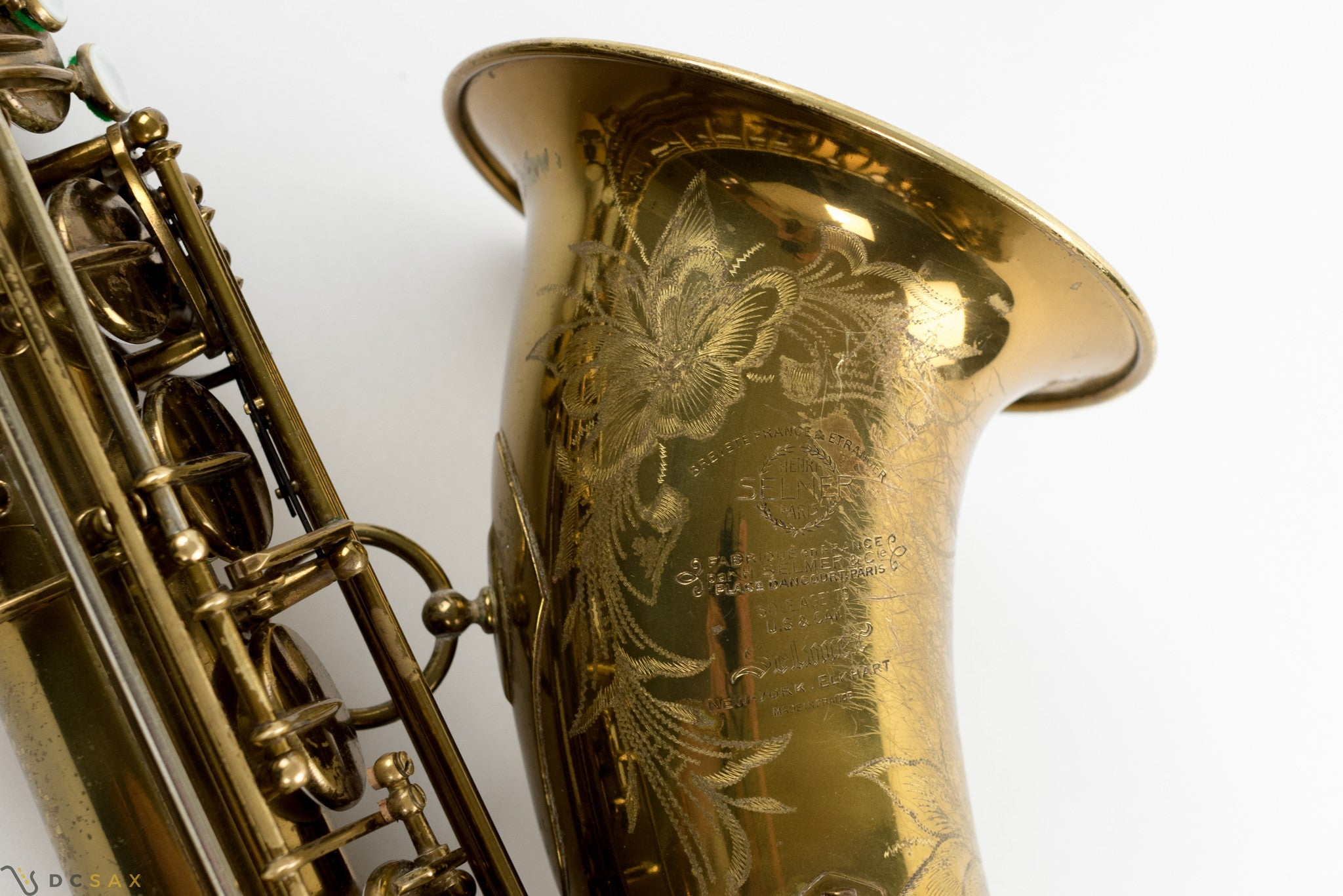1949 40,xxx Selmer Super Balanced Action SBA Tenor Saxophone 95% ORIGINAL LACQUER