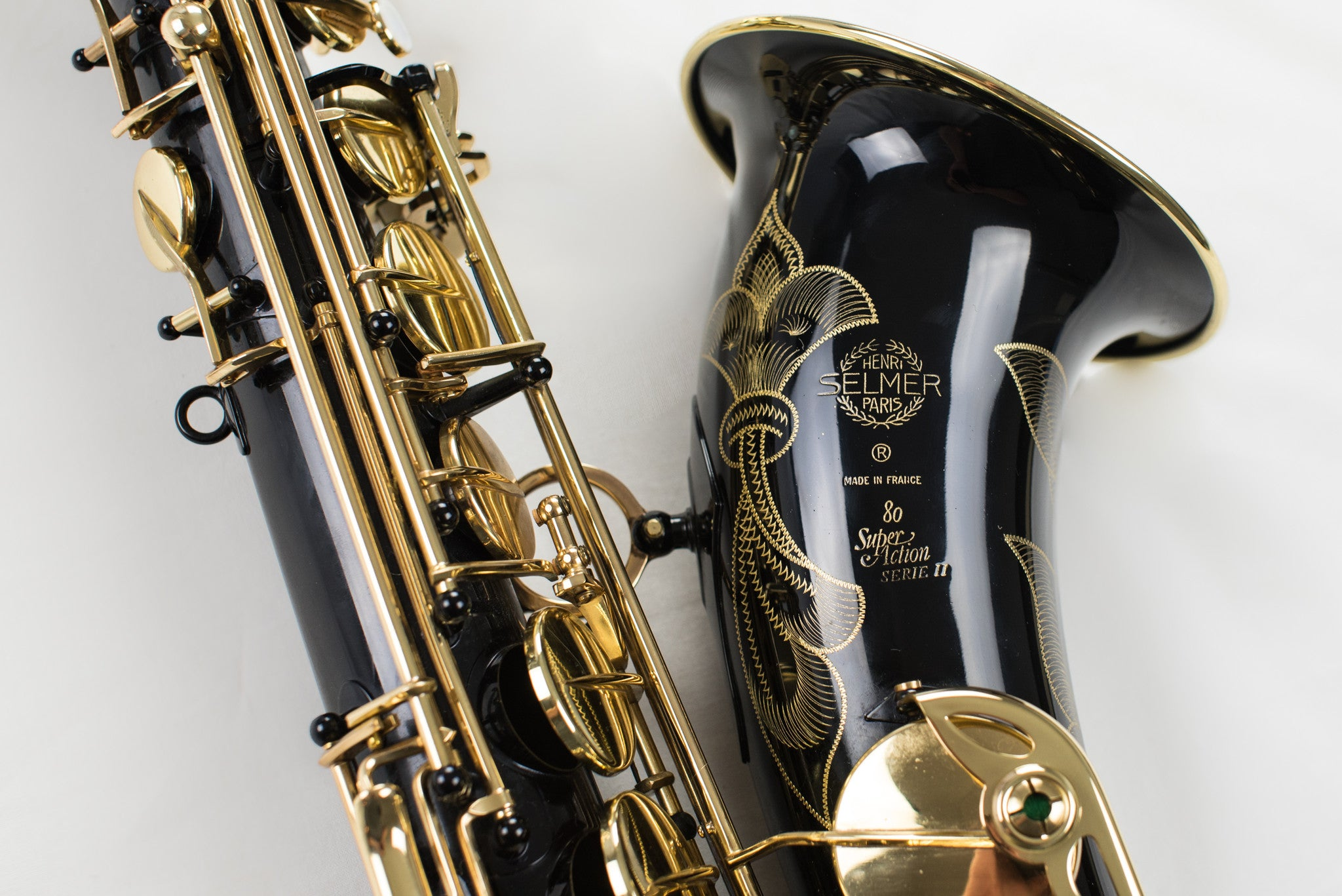 Selmer Super Action Series II Tenor Saxophone Black Lacquer