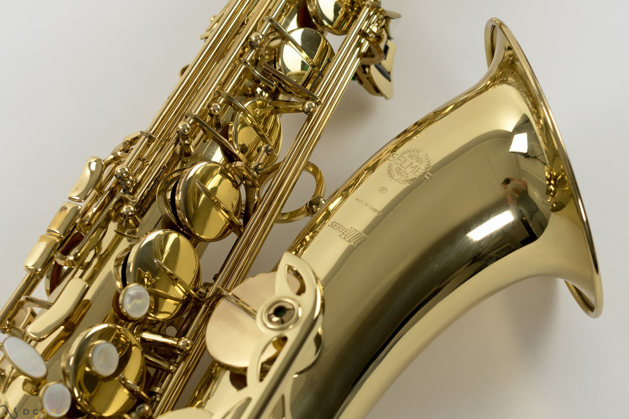 Selmer Series III Tenor Saxophone, Just Serviced
