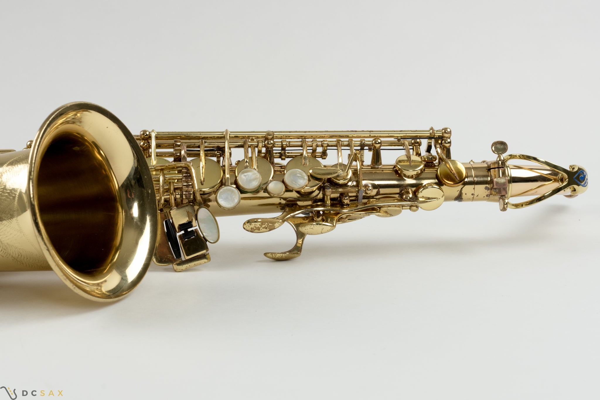 Selmer Super Action Series II Alto Saxophone, Fresh Repad