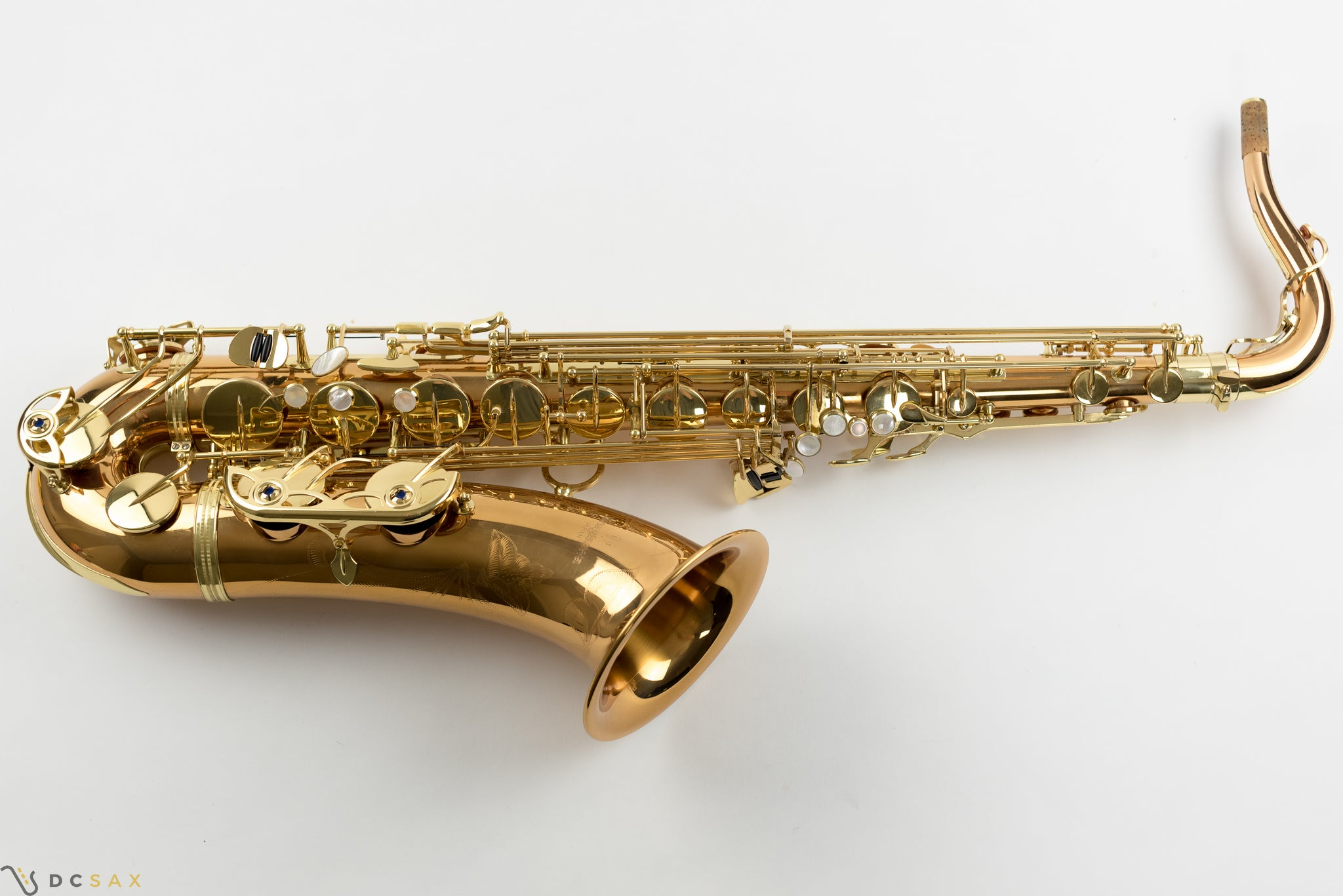 Yanagisawa 992 Tenor Saxophone With Bronze Finish, Near Mint