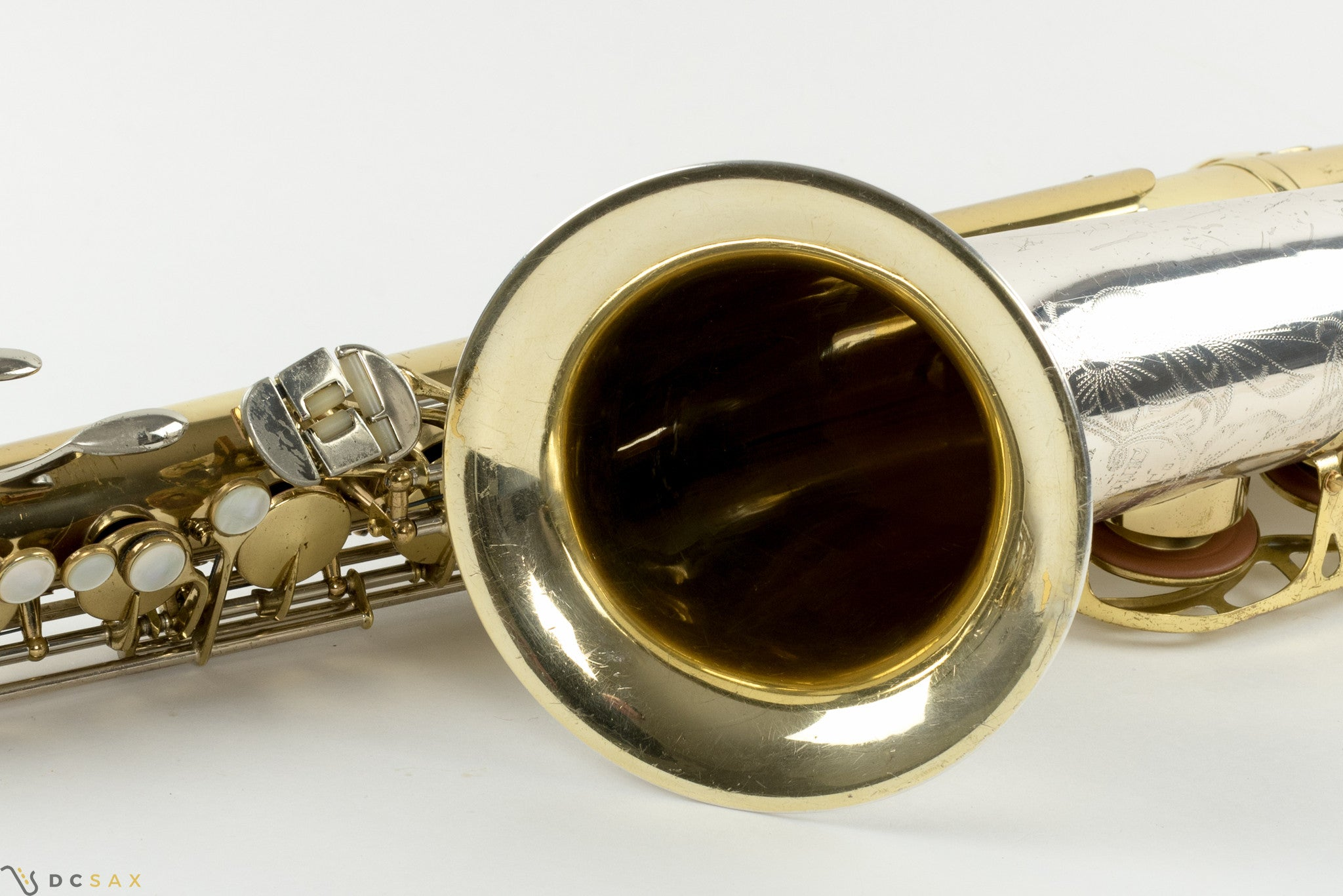 King Super 20 Silver Sonic Tenor Saxophone, Cleveland, Original Lacquer, Fresh Overhaul