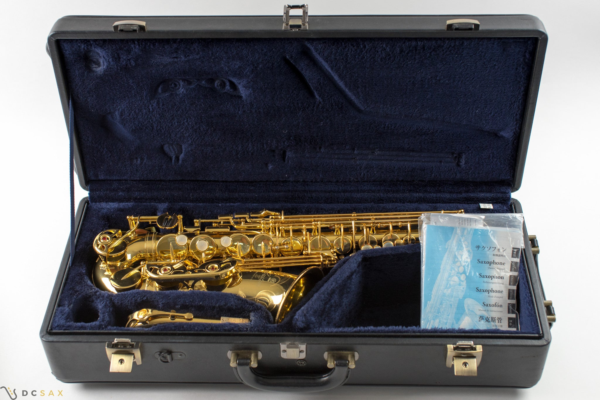Yamaha Custom 82Z Alto Saxophone, Near Mint Condition, WITH V1 NECK