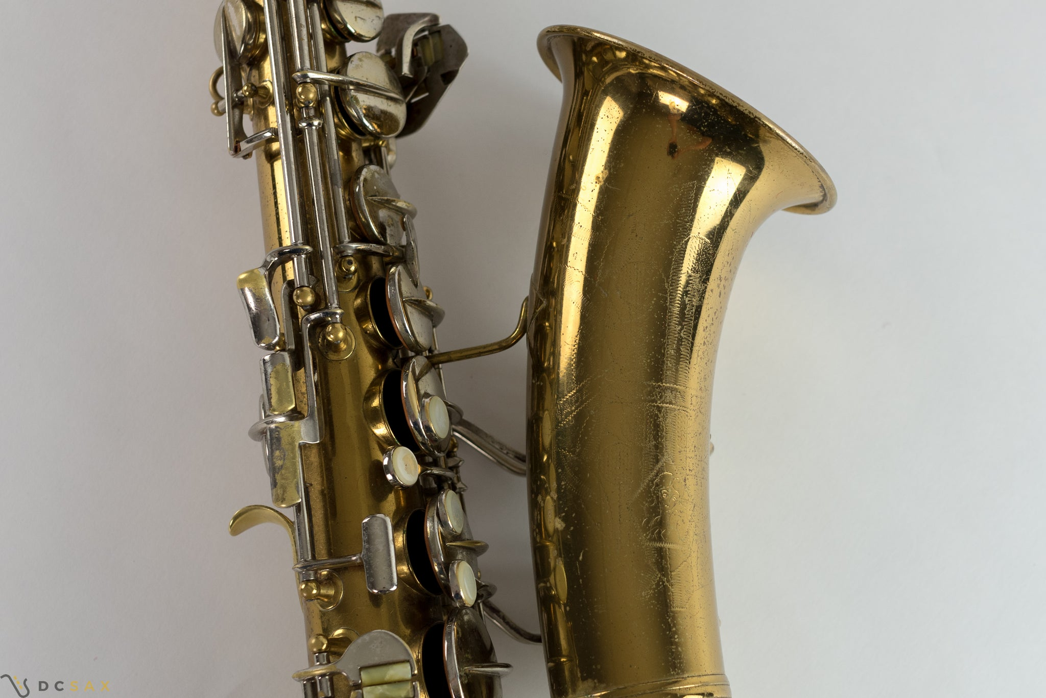 1941 Conn 6M VIII Alto Saxophone, Rolled Tone Holes, Just Serviced, Video
