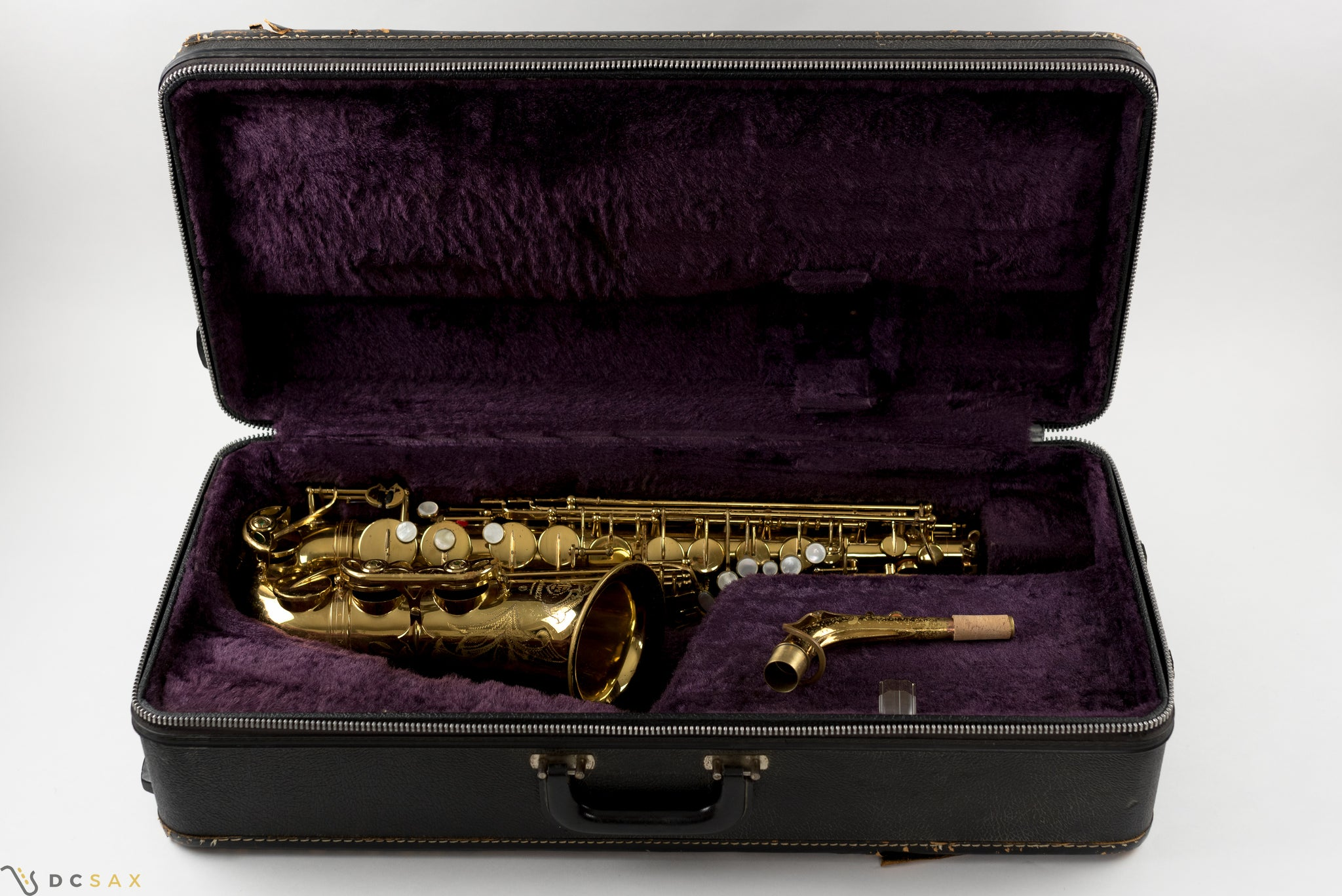 217,xxx Selmer Mark VI Alto Saxophone, 90% Original Lacquer, High F#, Video
