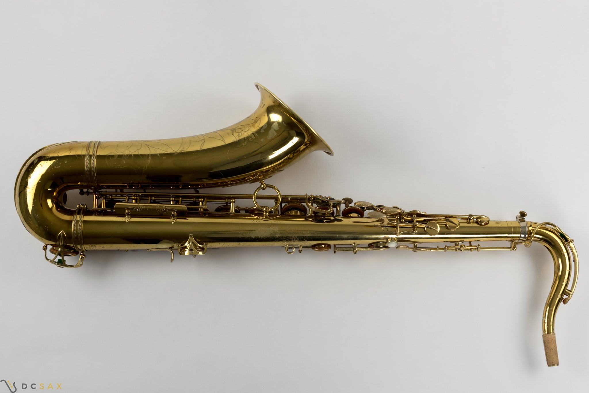 50,xxx Selmer Super Balanced Action Tenor Saxophone, Video