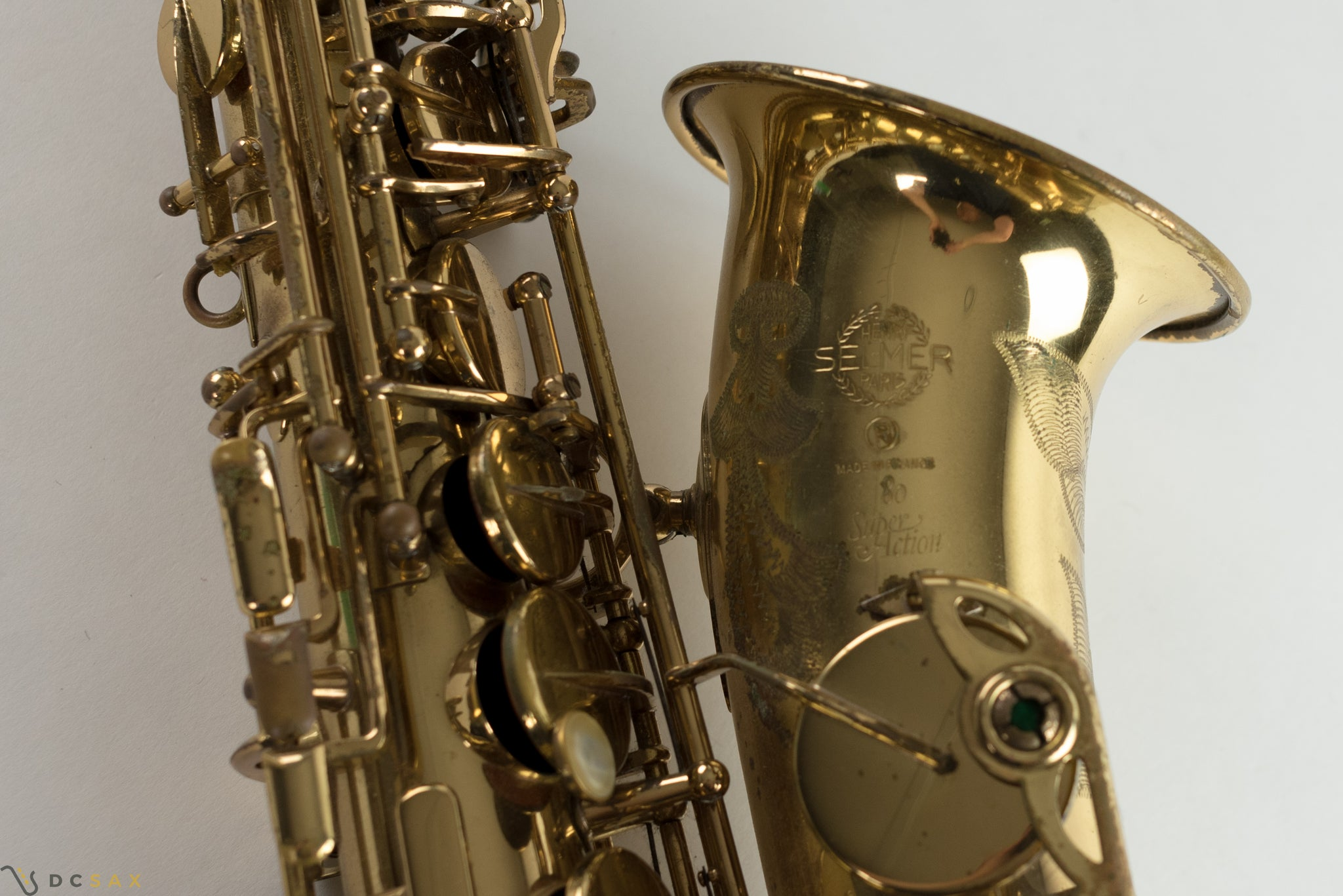 Selmer Super Action 80 Alto Saxophone, Just Serviced, Video