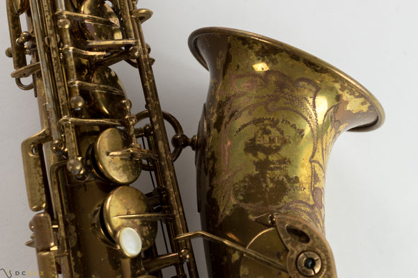 48,xxx Selmer Super Balanced Action Alto Saxophone, Original Lacquer, Overhaul
