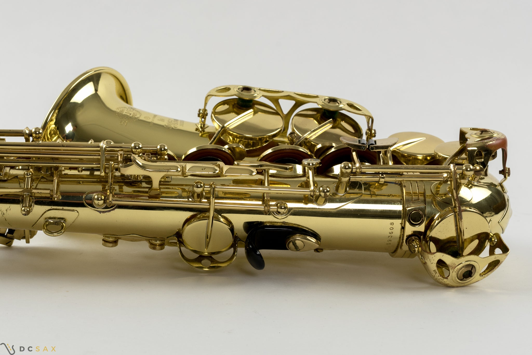 Selmer Super Action Series II Alto Saxophone, Just Serviced, Video Demo