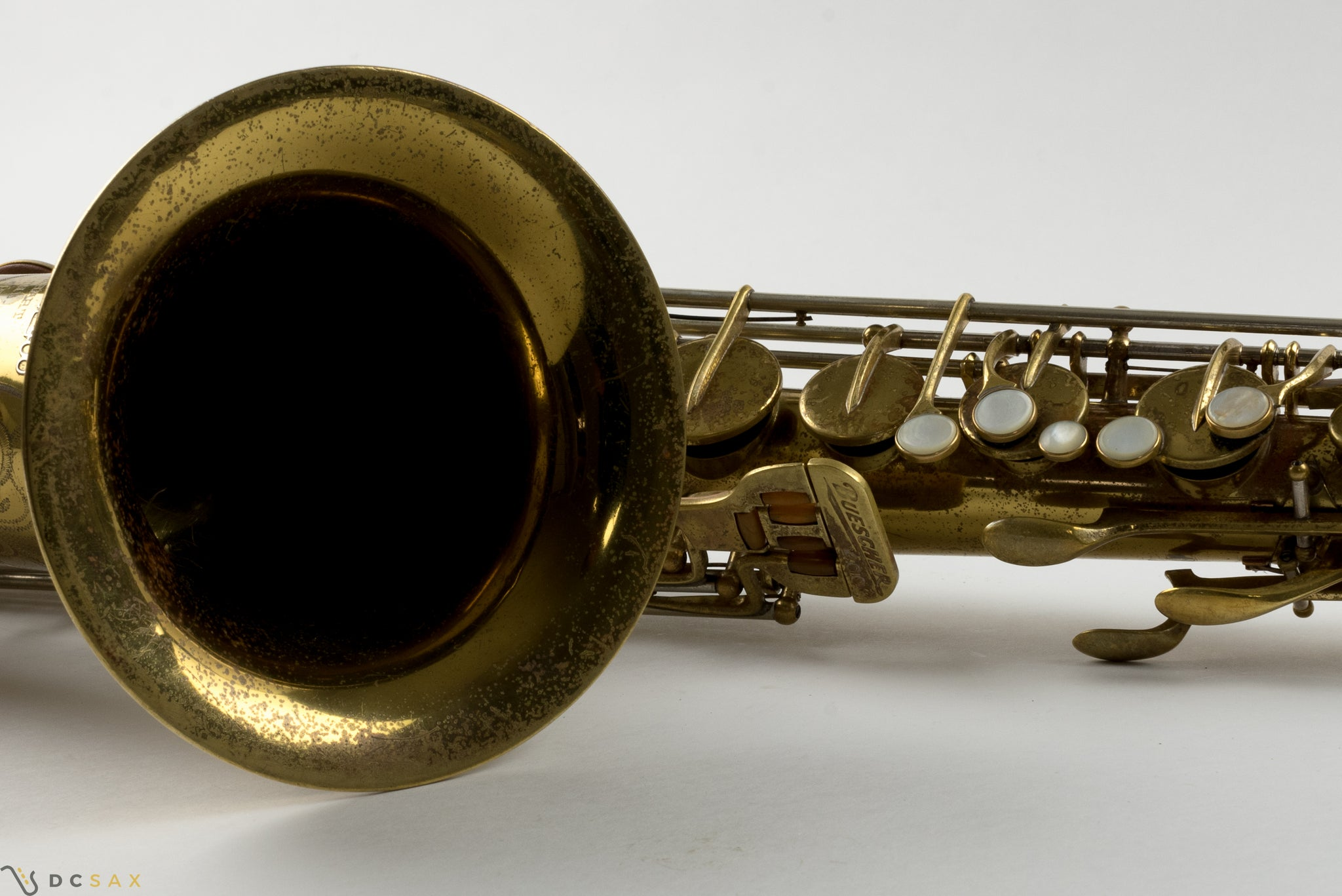 1949 Buescher 400 Top Hat and Cane Tenor Saxophone, Fresh Overhaul, Original Lacquer, Video