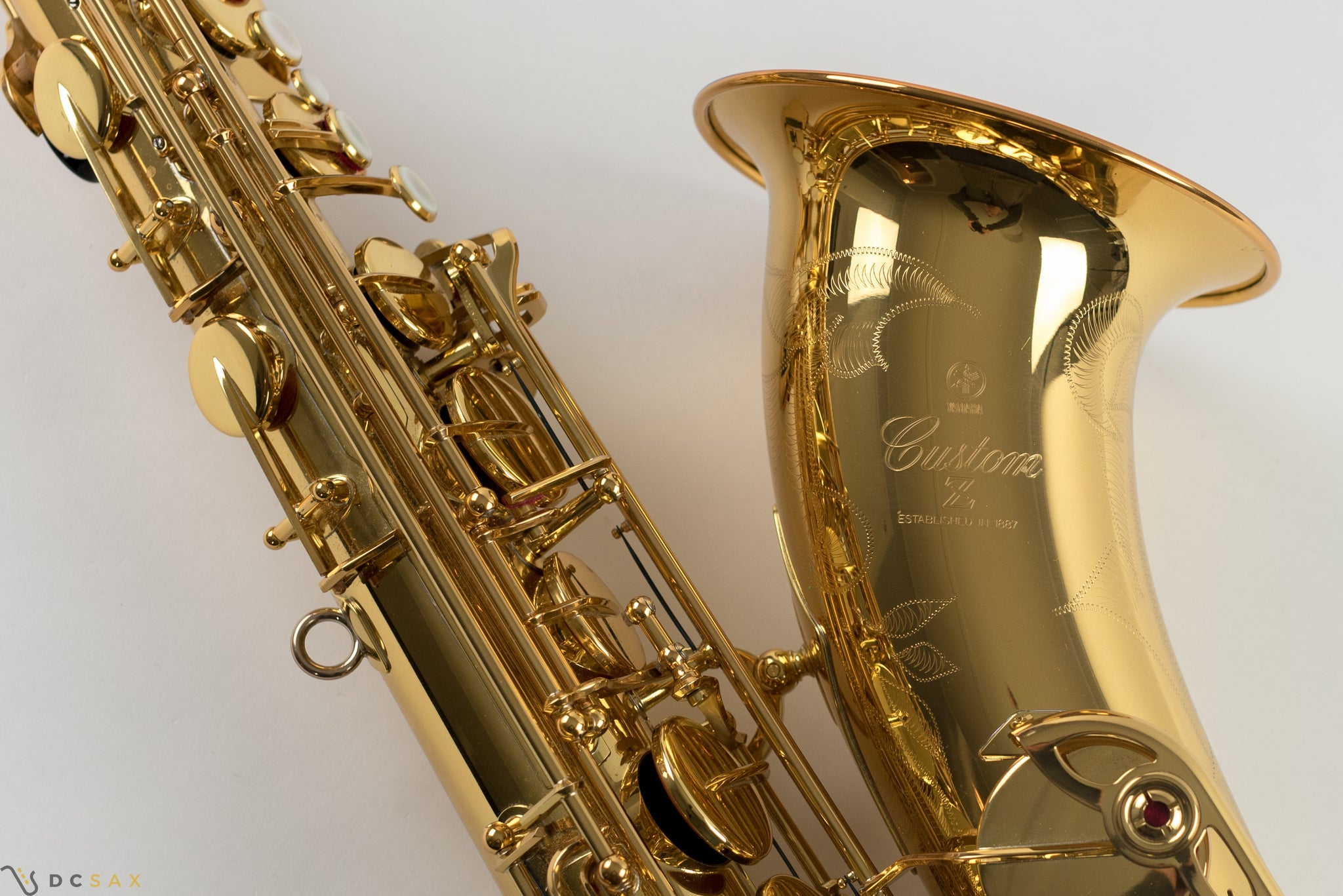 Yamaha Custom 82Z Tenor Saxophone, Just Serviced, V1 Neck