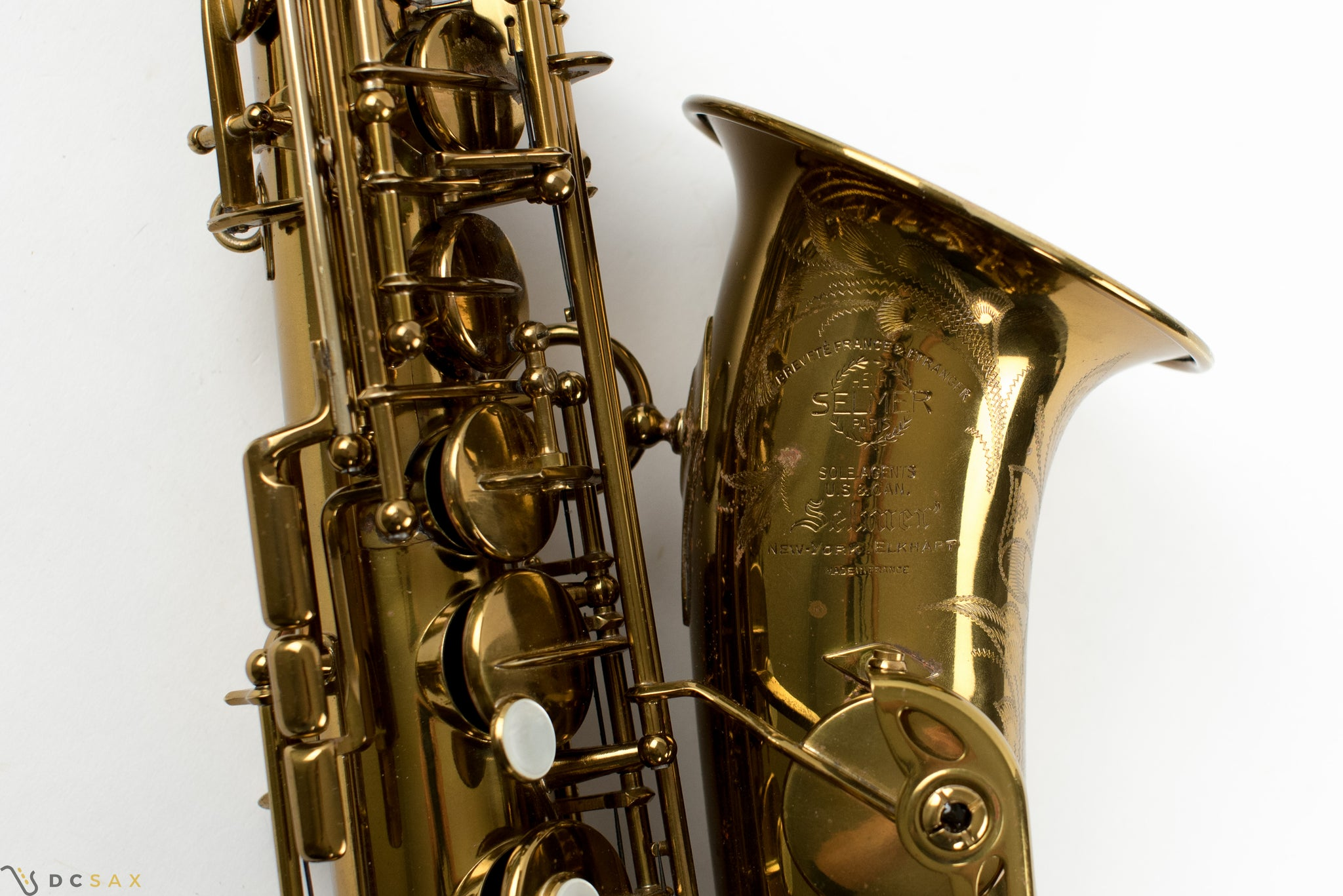 53,xxx Selmer Super Balanced Action Alto Saxophone, 98% Original Lacquer, Fresh Overhaul