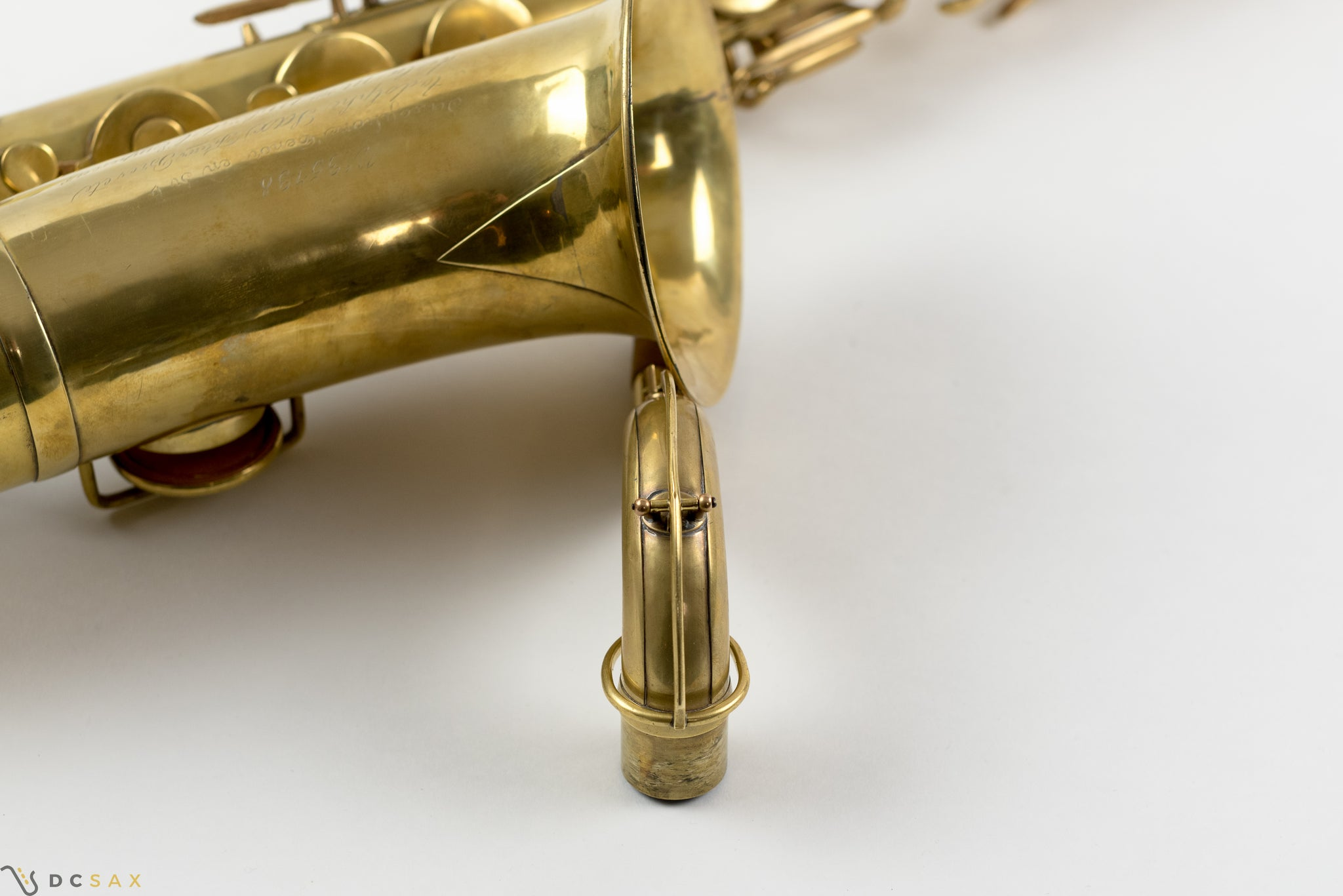 1870 Adolphe Sax Tenor Saxophone, Video Demo