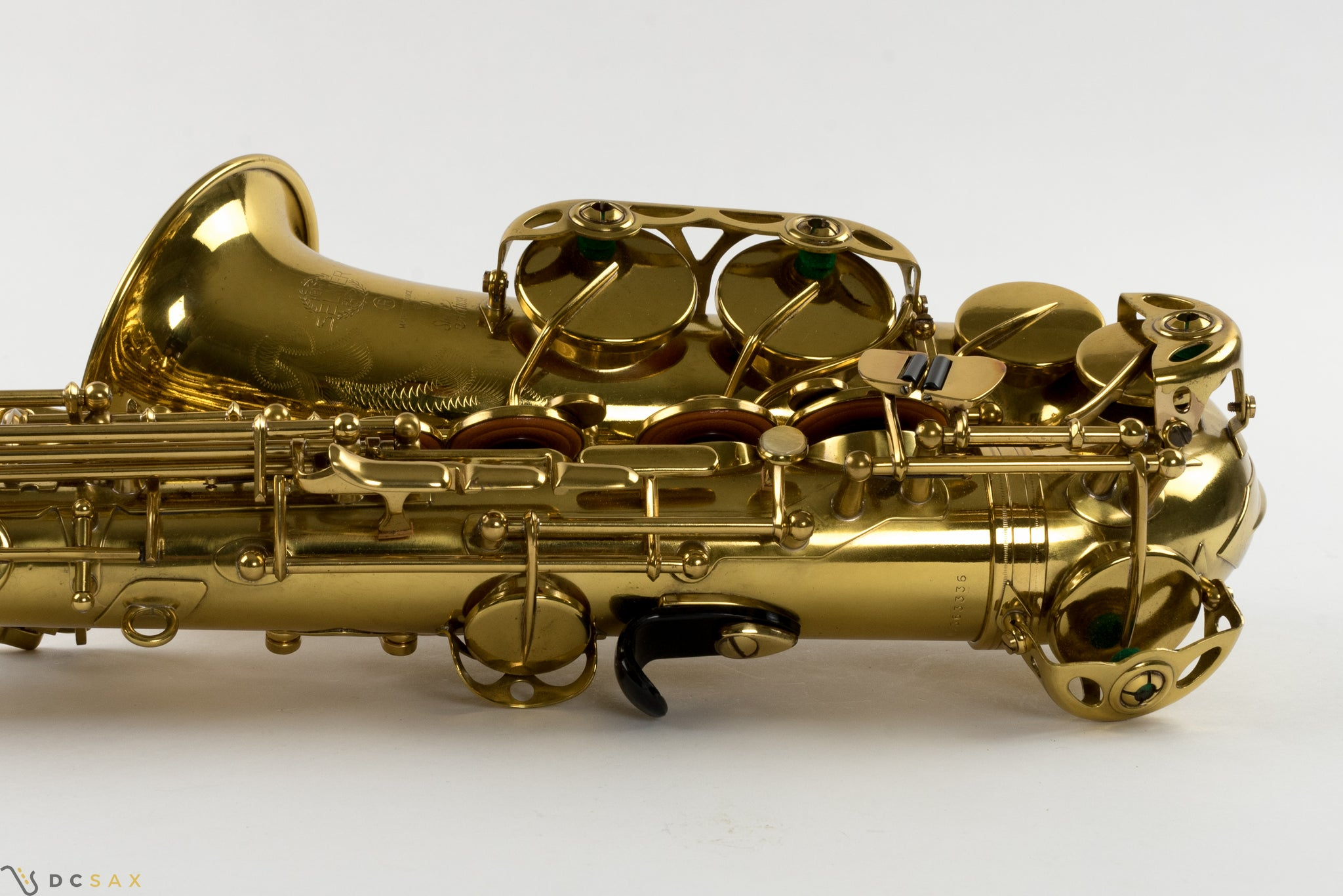 Selmer Super Action 80 Alto Saxophone, Just Serviced