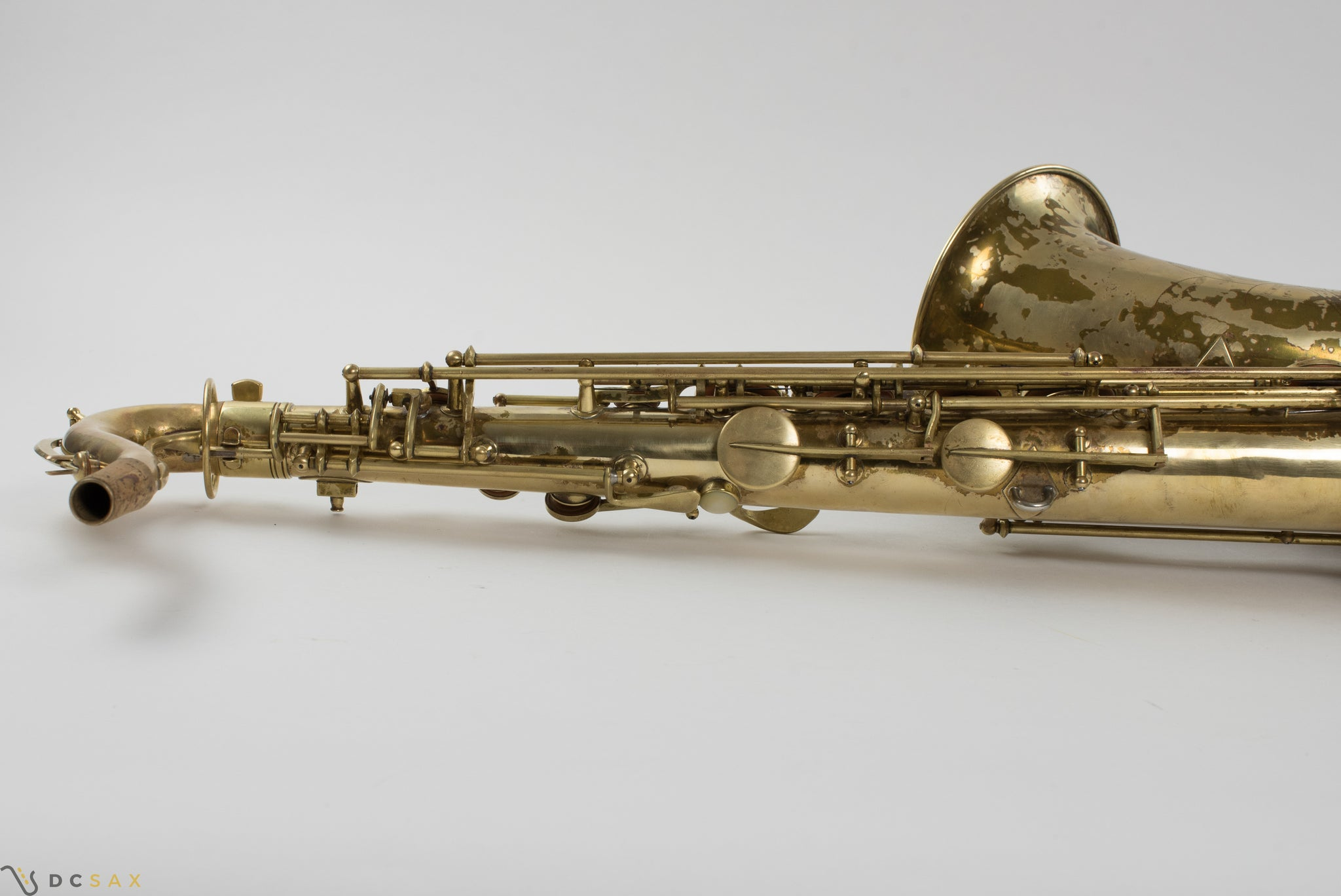1941 Conn 10M Tenor Saxophone ORIGINAL LACQUER, ROLLED TONE HOLES