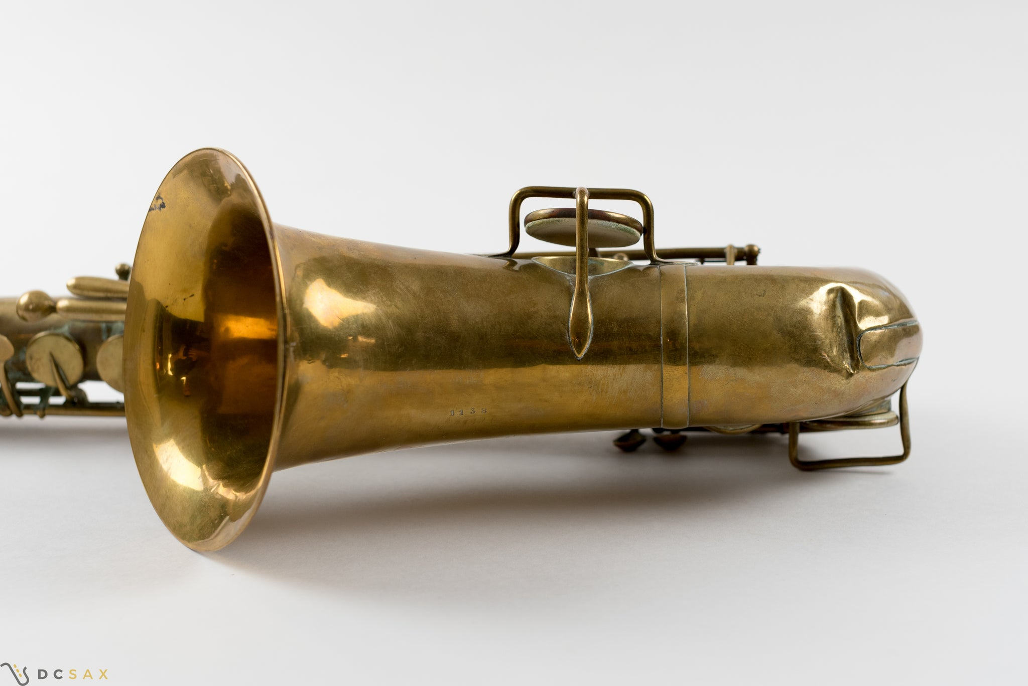1861 Adolphe Sax Alto Saxophone, Early Big Bell Version