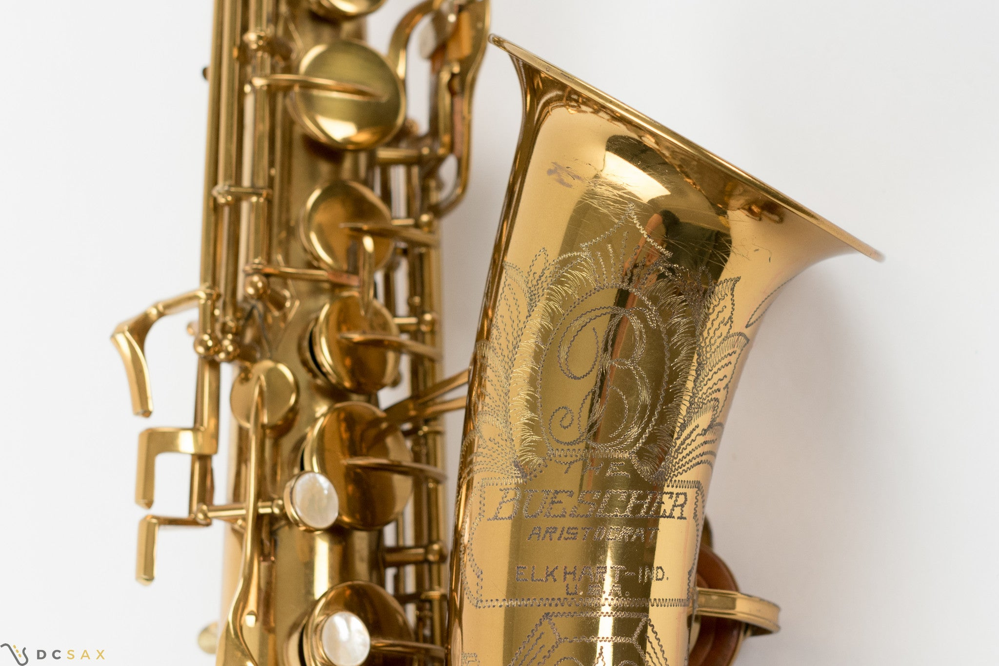 "Buescher Aristocrat ""Big B"" Alto Saxophone, Near Mint"