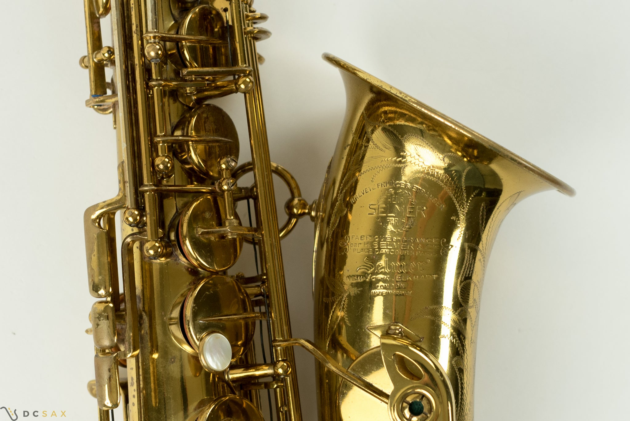 1954 55,xxx Selmer Mark VI Alto Saxophone, DOUBLE S NECK, Fresh Overhaul