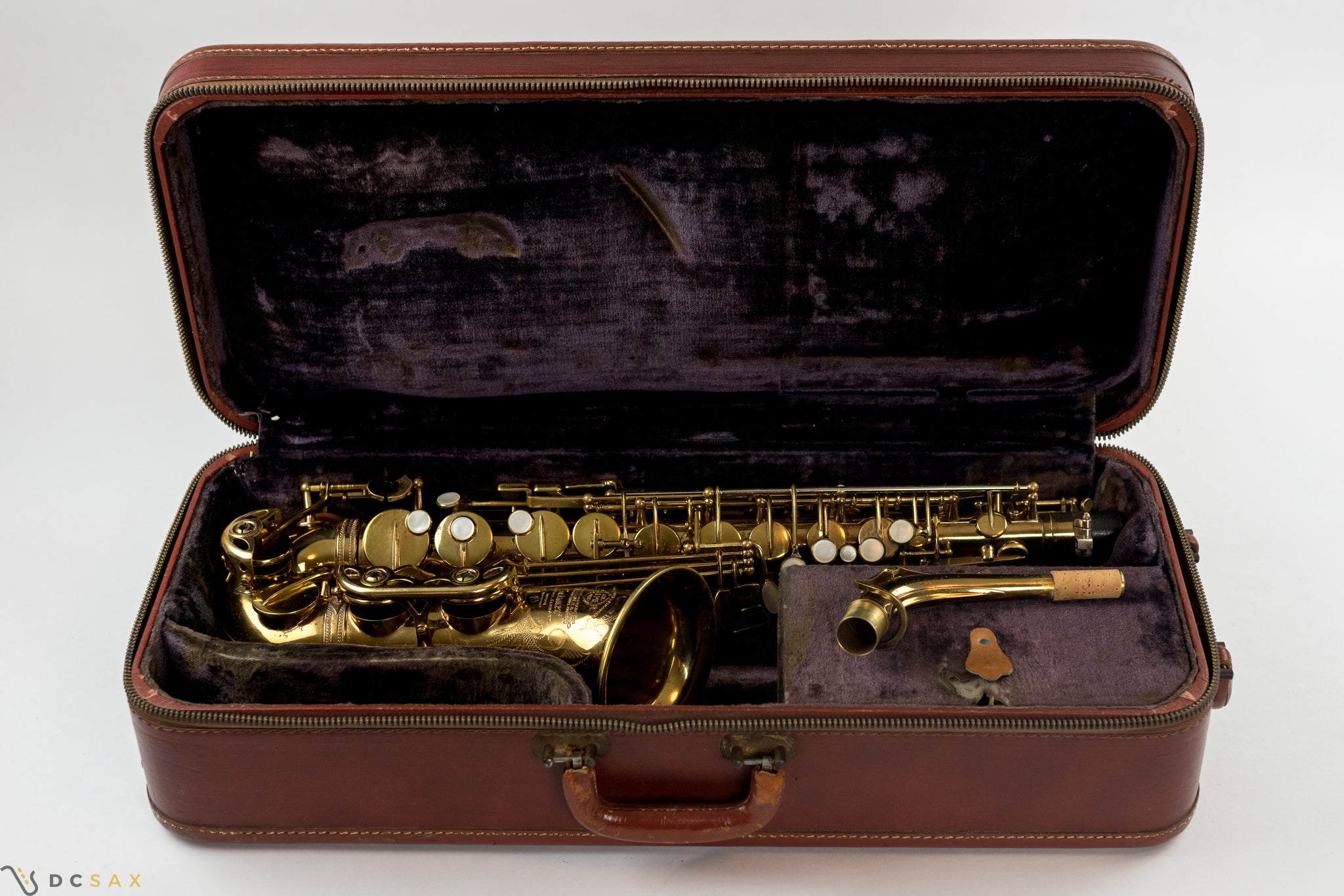70,xxx Selmer Mark VI Alto Saxophone, Fresh Overhaul