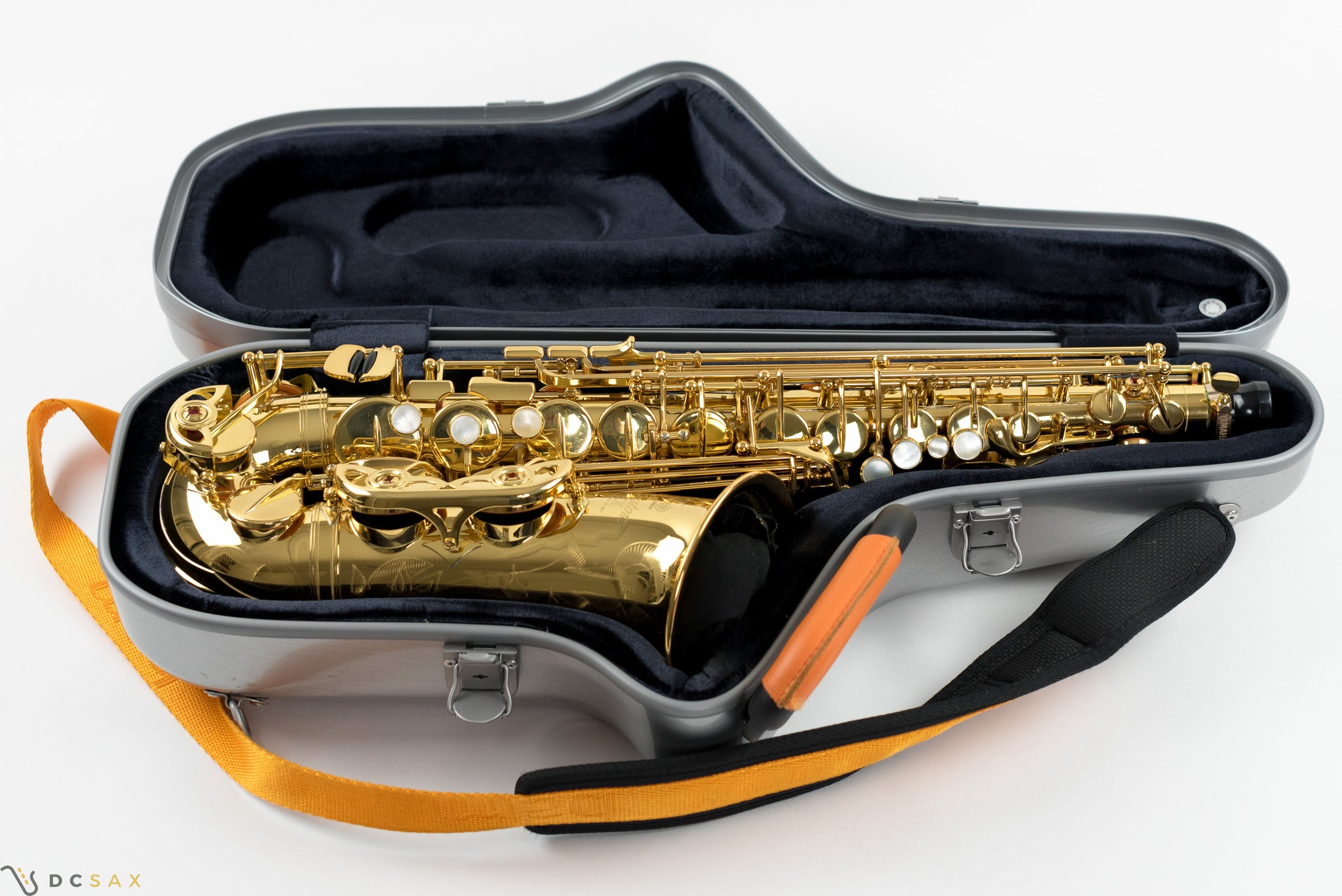 Yamaha Custom 875EX Alto Saxophone With Bam Cabine Case, V1 Neck