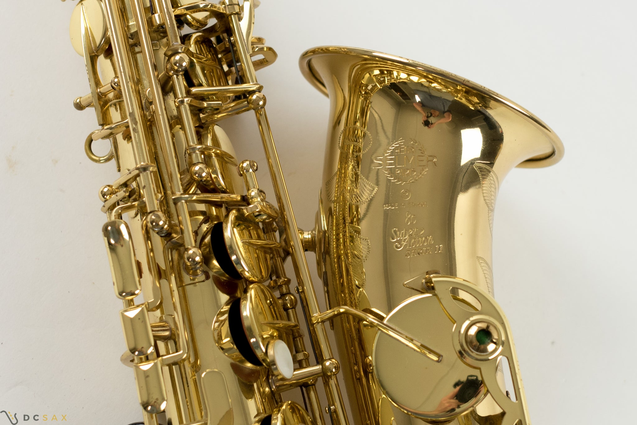 Selmer Super Action Series II Alto Saxophone, Just Serviced
